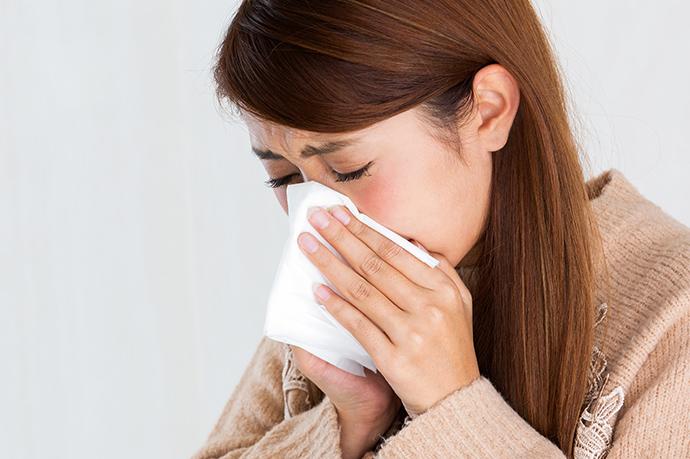 止める 鼻水
